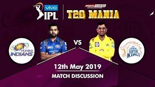 Mumbai vs Chennai IPL 2019 Final   Live Scores and Analysis (English)