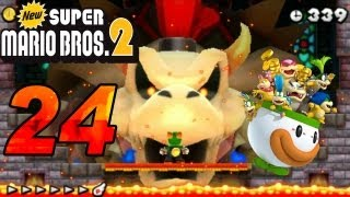 New Super Mario Bros. 2 - 3DS! Let's Play New Super Mario Bros. 2 Part 24 Final Secret Bossfight Dry Bowser [ENDE]