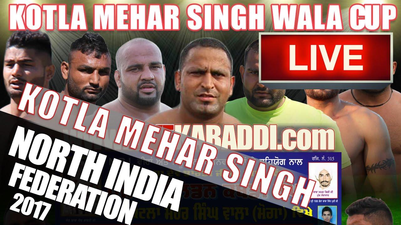 Download Kotla Mehar Singh Kabaddi Cup 2017 - North India Kabaddi Federation