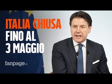 Il governo chiude l'Italia fino al 3 maggio, Conte: 'Non possiamo ancora ripartire'