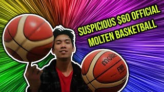 Official GG7X Molten Basketball | SUSPICIOUS 50% OFF PRICE | Unbox Review