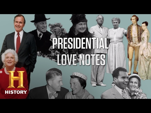 Presidential Love Notes | History