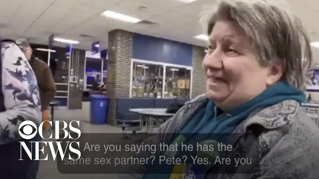 Iowa caucus-goer tries to change vote after learning Pete Buttigieg is gay