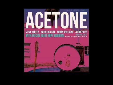 Acetone, live 2017-11-15, L.A., Zebulon Cafe, with Hope Sand