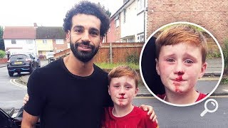 mo-salah-s-beautiful-gesture-towards-a-boy-who-got-injured-chasing-his-car-oh-my-goal
