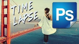 Time Lapse photoshop art #6 Lost in San Francisco
