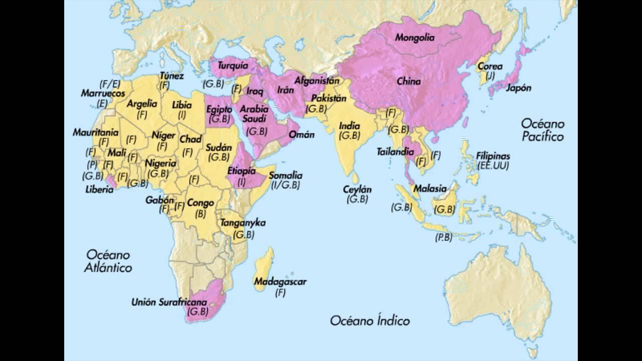 El fin del colonialismo en Africa y Asia  YouTube