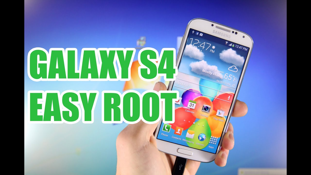 How To Root ANY Samsung Galaxy S4 4 2 2 - AT&T, T-Mobile, Sprint, Verizon &  I9505