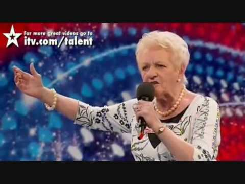 BRITAIN'S GOT TALENT 2013 - KELLY FOX (71 YR OLD ROCKER ...