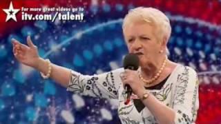 britains got talent    - amazing 80 year old singer