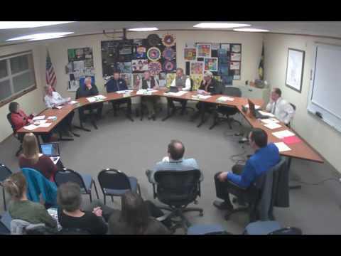 Belgrade School Board Meeting 02-22-16