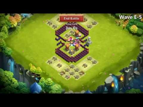 Castle Clash - HBM Farming E No Garrisons