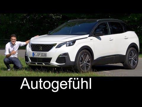Peugeot 3008 GT-Line FULL REVIEW 165hp petrol test 2018 - Autogefühl
