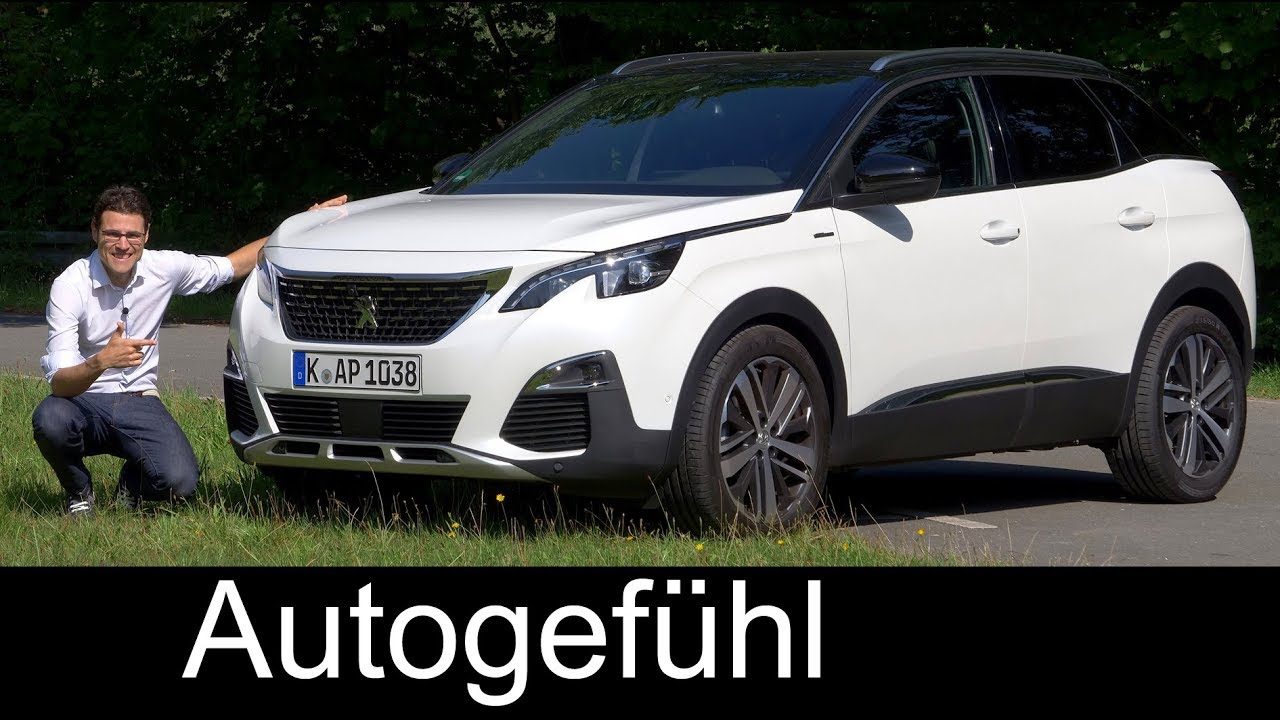 peugeot 3008 gt line full review 165hp petrol test 2018 autogef hl [ 1280 x 720 Pixel ]