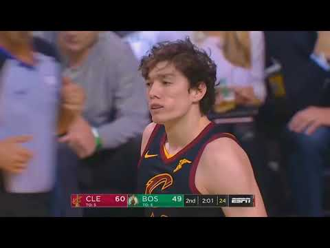 LeBron James Claps for Cedi Osman lol After He Misses Wide Open Dunk!
