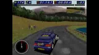 [DOS] Network Q RAC Rally Championship -- Gameplay