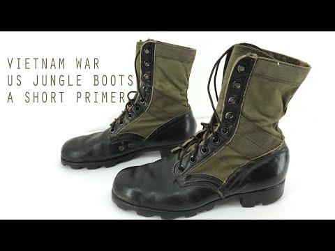 VIETNAM WAR US JUNGLE BOOTS - A SHORT PRIMER