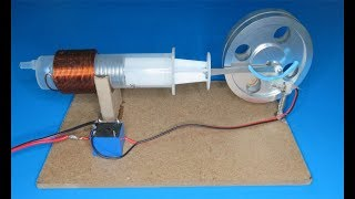 How to make a powerful solenoid engine