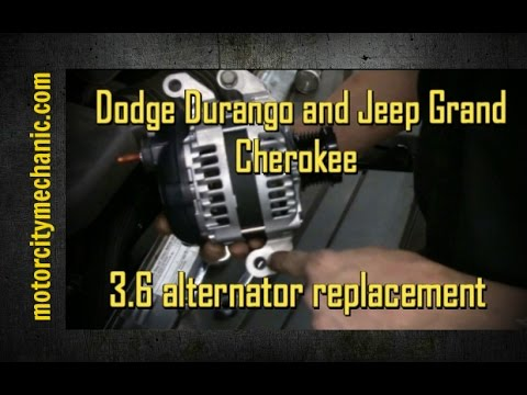 20112014 Dodge Durango and Jeep Grand Cherokee 36