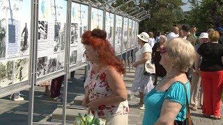 У Мамаева кургана открылась выставка «Волонтерские истории Города Мира»