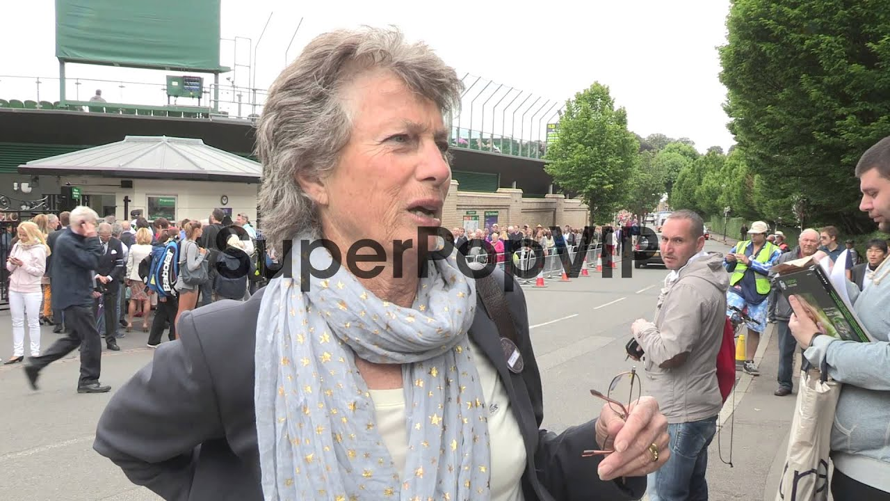 INTERVIEW Virginia Wade at Video Sightings at Wimbledon