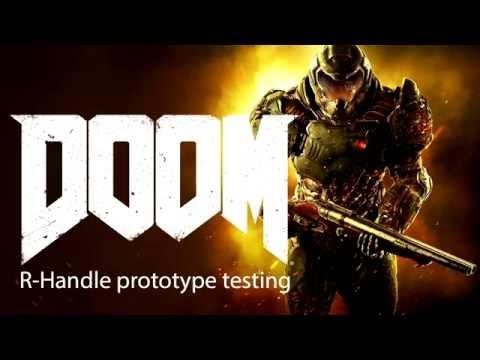 R-Handle gamepad. Test #6 Doom