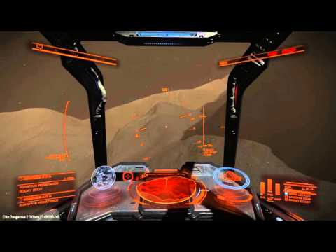 Elite:Dangerous Horizons- Canyon cruising in my DBS