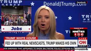 CNN Host: Kayleigh McEnany Quit CNN to Do Trump's 'Fake Newscast'