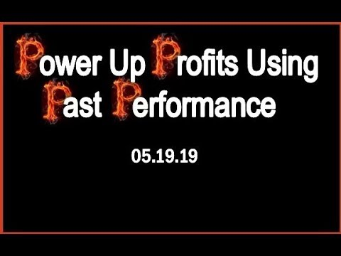 Dr. Handley's Review: Power Up Profits Using Past Performance©