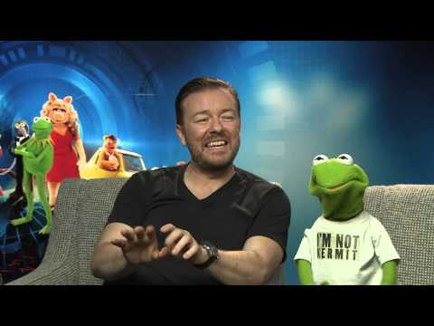 Muppets Most Wanted - Constantine and Ricky Gervais Interview