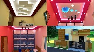 2 bhk independent house plan false ceiling cupboards kitchen front elevation interior design