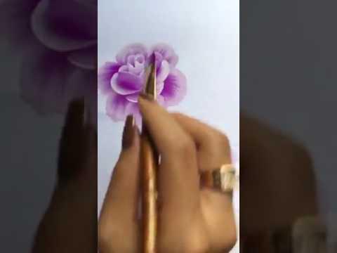 Livetream vẽ hoa hồng bằng màu nước