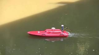 Oceanscience Q-Boat 1800P with SonTek M9 RiverSurveyor