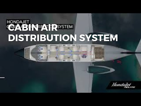 HondaJet Elite Cabin Air Distribution System