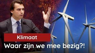 Baudet tijdens Klimaatdebat: geen 1.000 miljard voor Groene Gekte!