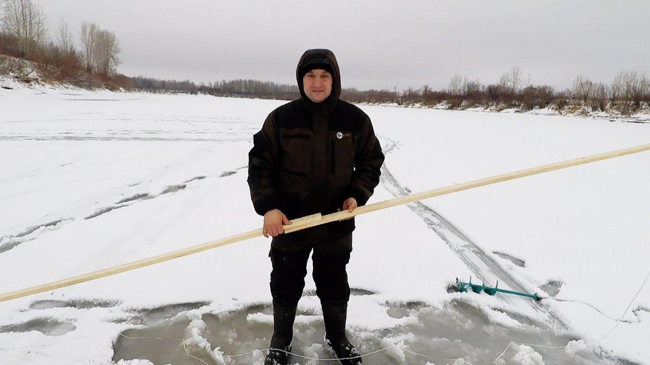 Как сделать протяжку подо льдом фото 245