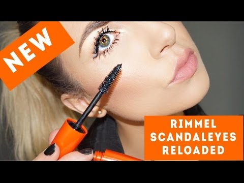 d4a4b2992ea NEW* RIMMEL SCANDALEYES RELOADED MASCARA | REVIEW & DEMO - YouTube