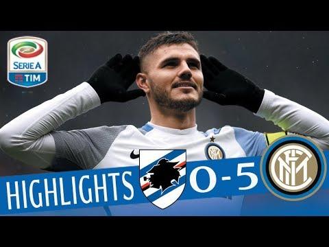 Sampdoria - Inter 0-5 - Highlights - Giornata 29 - Serie A TIM 2017/18