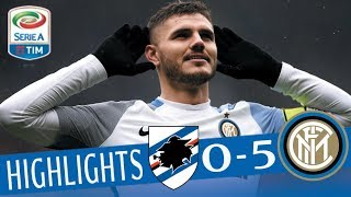Sampdoria - Inter 0-5 - Highlights - Giornata 29 - Serie A TIM 2017/18