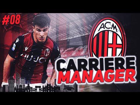 FIFA 21 Carrière Manager Milan AC #8 : Une place sur le podium ?