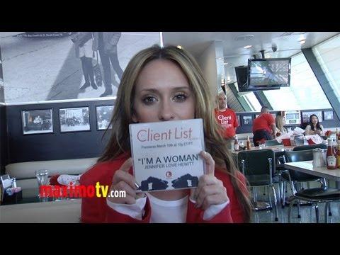 "Jennifer Love Hewitt on New Single ""I'm A Woman"""