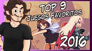TOP 9 JUEGOS FAVORITOS DEL 2016 - Daniel San GMR