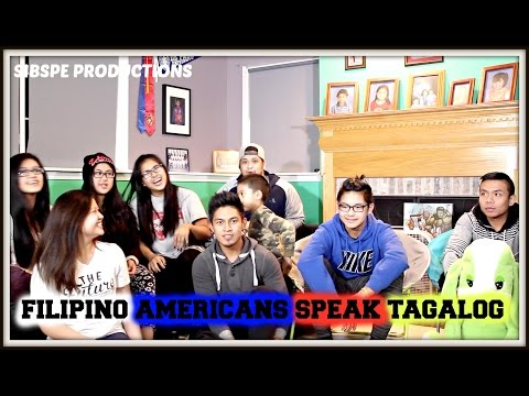 FILIPINO AMERICAS TRY TO SPEAK TAGALOG