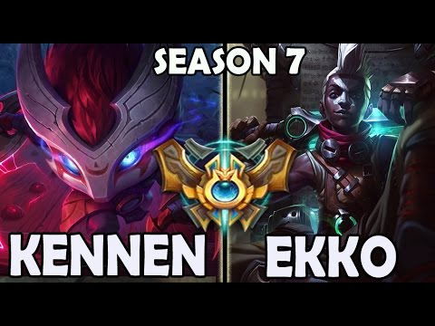 Marin plays KENNEN TOP vs A Korean CHALLENGER EKKO