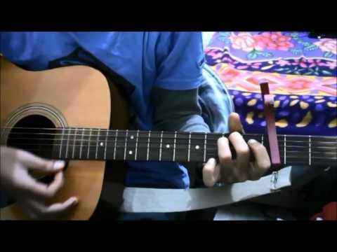 Ek Ajnabee Haseena Se Mulakat Ho Gai - EASY GUITAR COVER LESSON CHORDS CAPO