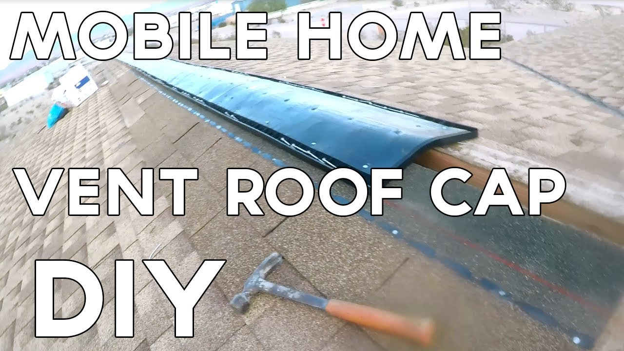Diy Mobile Home Roof Vent Cap Youtube