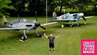 Replica WW2 Planes Built From Recycled Materials - COOLEST THING I'VE EVER MADE EP 17