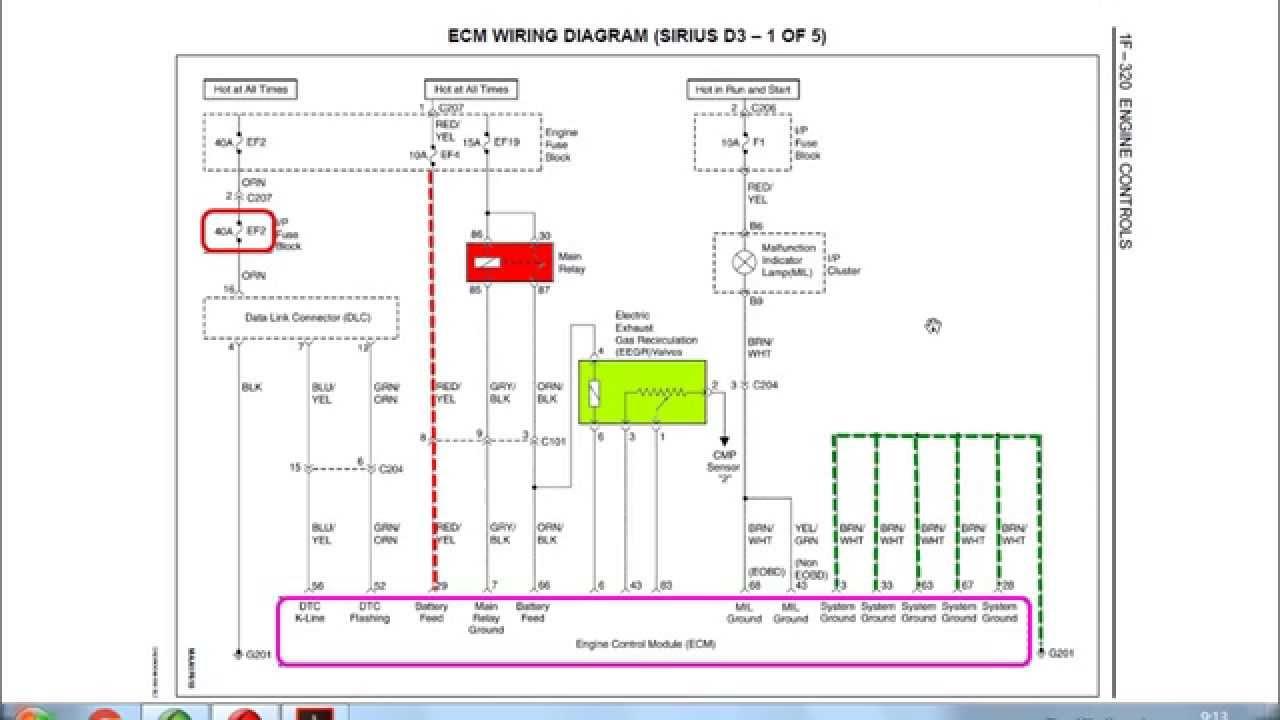 Diagrama Eléctrico General Matiz Spark