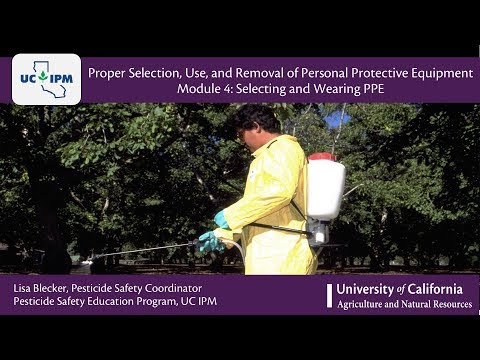Module 4: Selecting And Wearing Personal Protective Equipment