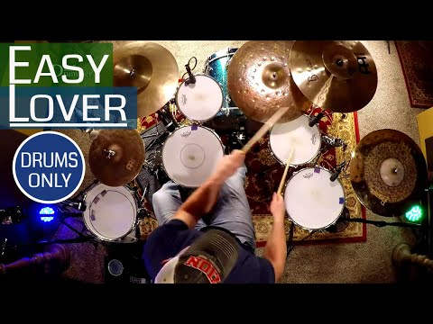 Phil Collins & Philip Bailey Easy Lover Drum Cover (DRUMS ONLY)⚫⚫⚫